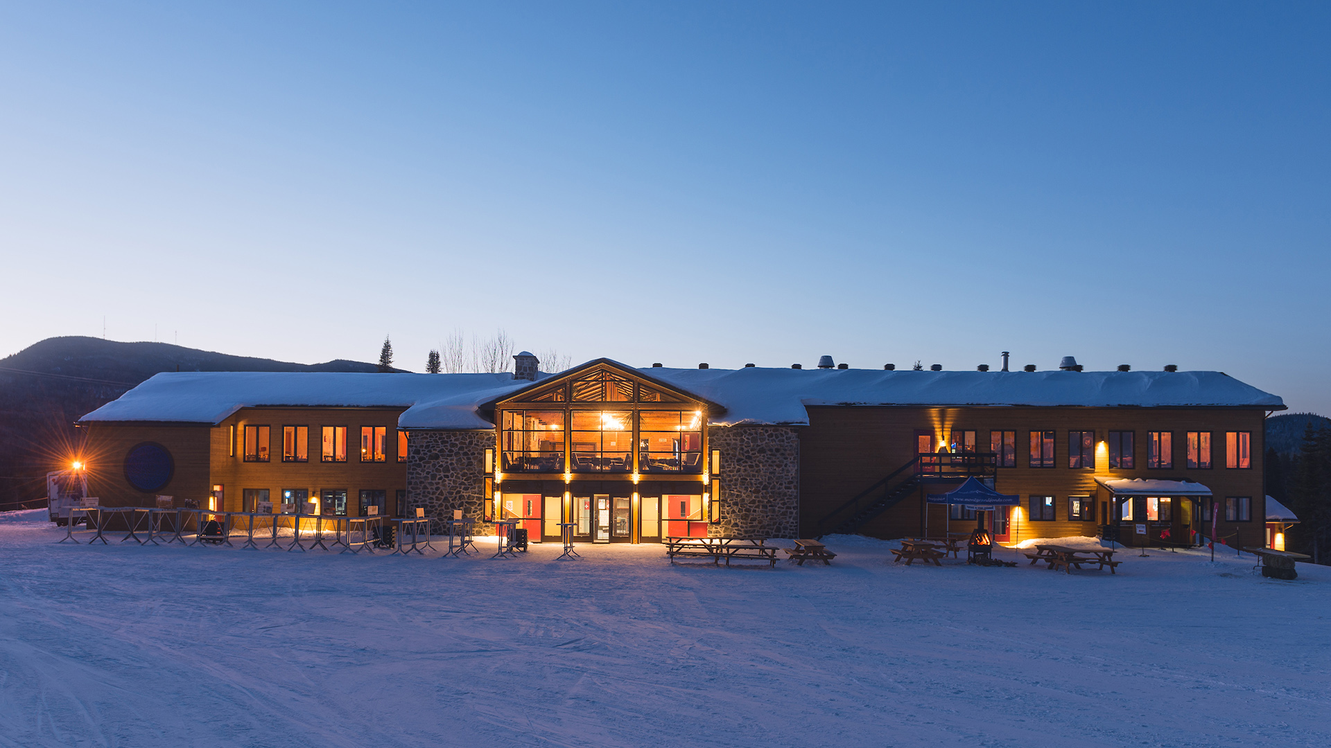 Chalet principal, Grand-Fonds, Charlevoix